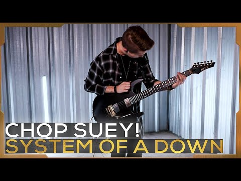 Chop Suey! - System Of A Down | Cole Rolland (Guitar Cover)