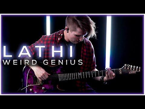 LATHI (feat. Sara Fajira) - Weird Genius | Cole Rolland (Guitar Cover)
