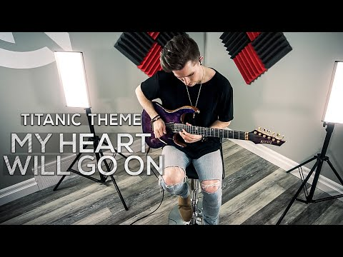 My Heart Will Go On (Titanic Theme) - Cole Rolland (Guitar Cover)