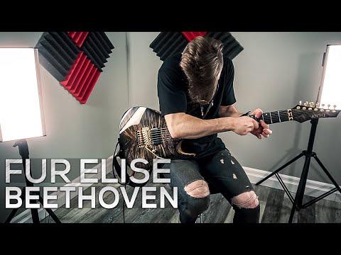 Für Elise - Ludwig Van Beethoven - Cole Rolland (Metal Cover)