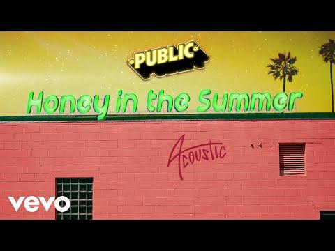 PUBLIC - Honey In The Summer (Acoustic / Audio)