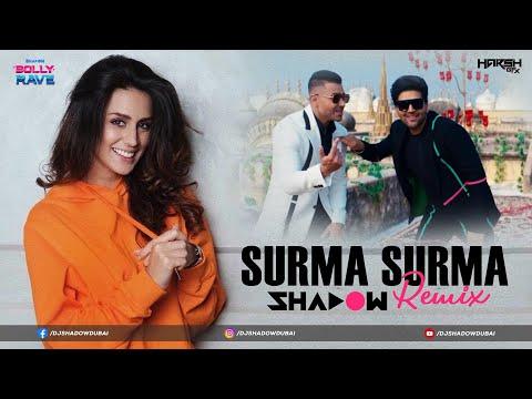 Surma Surma Remix | DJ Shadow Dubai | Guru Randhawa | Jay Sean | Bolly Rave