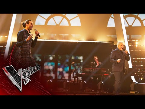 Jonny Brooks and Sir Tom Jones' 'Drift Away' | The Final | The Voice UK 2020