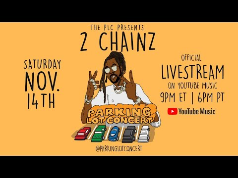 "2 Chainz ""So Help Me God"" Parking Lot Concert"