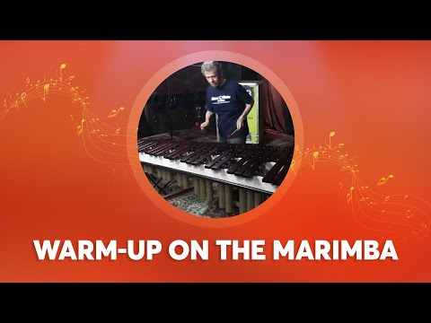 Chick Plays Around on the Marimba