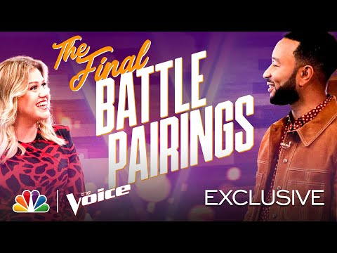 The Final Battle Pairings Are Revealed by the Coaches - The Voice Battles 2020