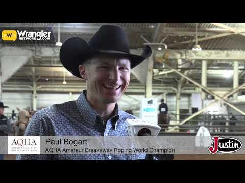 Paul Bogart • AQHA Worlds Show 2020 • Winning Ride & New Album!