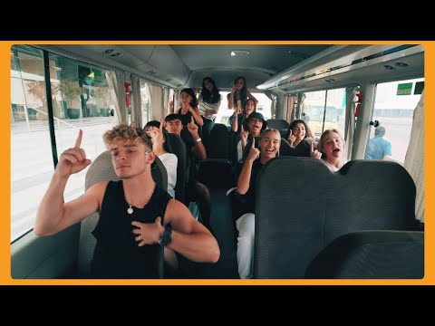 Now United Dancing to 'One Love' On The Bus!