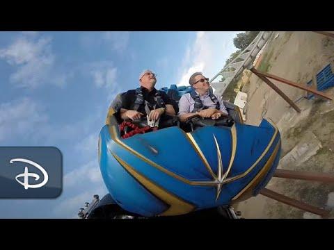 Guardians of the Galaxy: Cosmic Rewind Groundbreaking Ride System   Walt Disney World