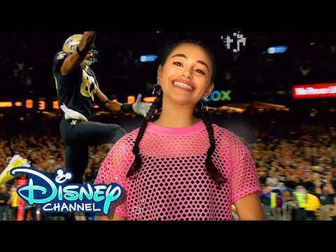 A Day in the Life with Miranda May and Pearce Joza | NFL: For the Win | Disney Channel
