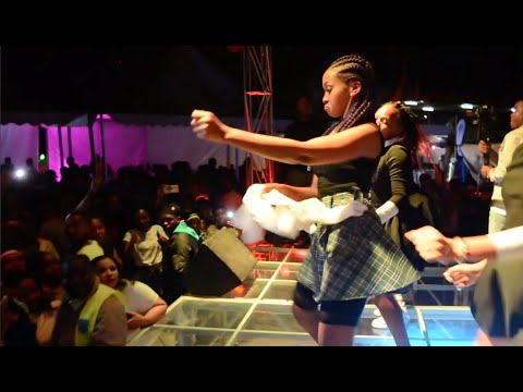 Zuchu - Performing Ashua Sebene In Dodoma