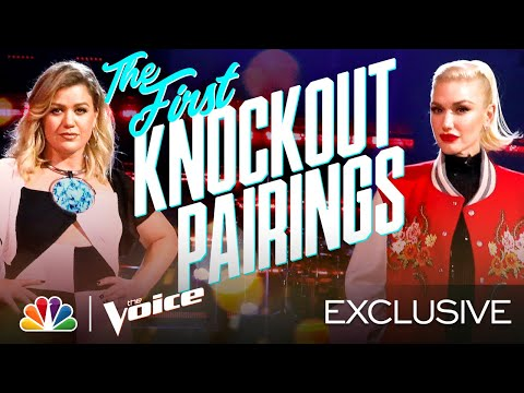 The First Knockout Pairings Are Revealed by the Coaches - The Voice Knockouts 2020