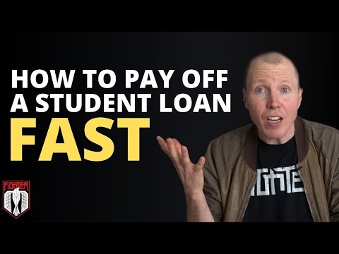 How To Pay Off a Student Loan FAST