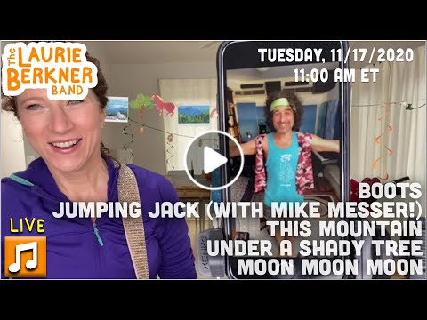 LIVE Berkner Break | Tues., Nov. 17 | Hiking Day with Mike Messer | BOOTS, Moon, Jumping Jack + More