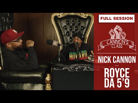 [FULL SESSION] Royce Da 5'9 on Cannons Class