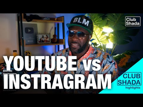 It's still better to stream on youtube than instagram during quarantine | Club Shada