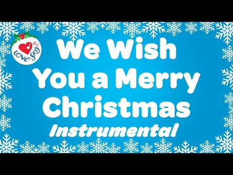 We Wish You a Merry Christmas Instrumental with Lyrics Song | Christmas Songs and Carols 2020