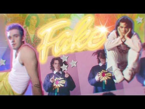 Lauv & Conan Gray - Fake [Official Lyric Video]