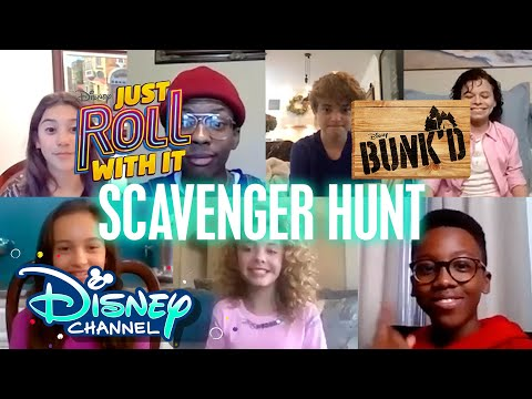 BUNK'D and Just Roll With It 🎉 | Virtual Scavenger Hunts | Disney Channel