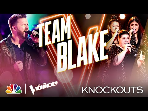 """Ben Allen and Worth the Wait Give """"Amazing"""" Country Performances - The Voice Knockouts 2020"""