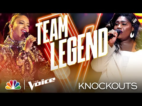 """Casmè and Tamara Jade Both Give """"Incredible"""" Performances - The Voice Knockouts 2020"""