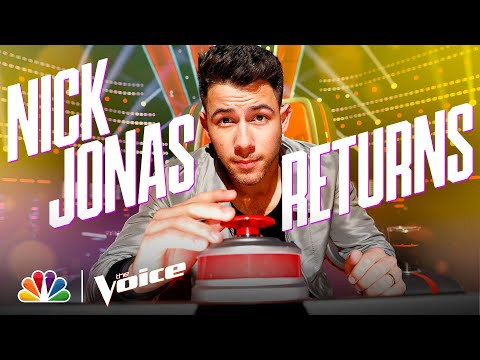The Return of Coach Nick Jonas - The Voice 2021