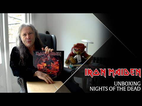 Iron Maiden - Bruce unboxes Nights Of The Dead