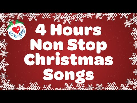 4 Hours Best Christmas Songs & Carols with Lyrics🎄Top Merry Christmas Music Playlist 2020🎅