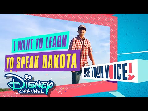 Language | Native American Heritage Month | Use Your Voice | Disney Channel