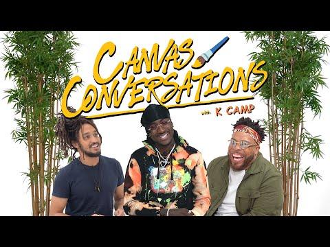 K Camp Speaks On His Viral TikTok Record | Canvas Conversations