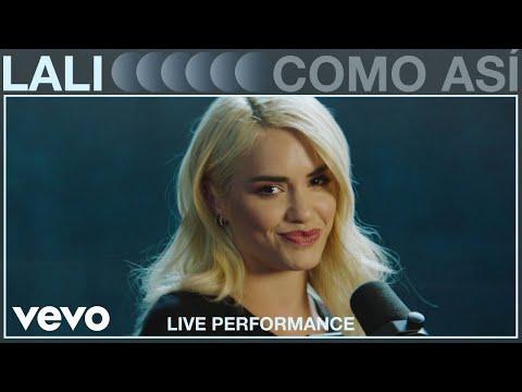 Lali - Como Así (Live Performance)   Vevo