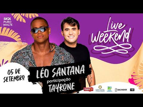 Live Weekend ☀️   Léo Santana (OFICIAL) - Em Casa #Comigo