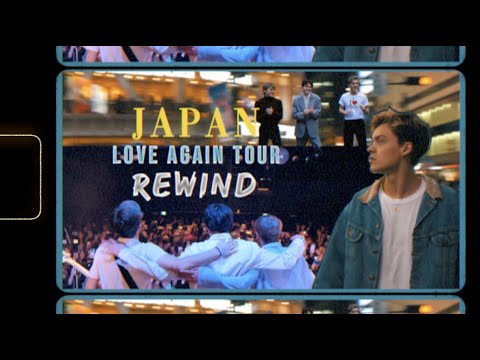 New Hope Club - Rewind - Love Again Tour 2019 Japan Vlog
