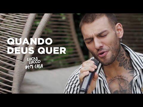 Lucas Lucco - Quando Deus Quer #EmCasa | Cante #Comigo