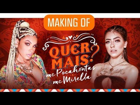 """Making Of -  Pocah e MC Mirella - """"Quer Mais?"""" (Oficial)"""