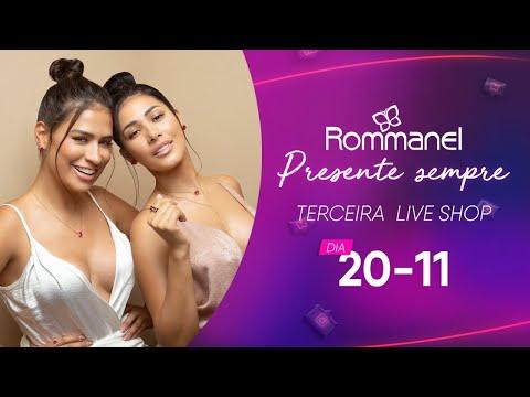LIVE SHOP ROMMANEL PRESENTE SEMPRE COM SIMONE & SIMARIA