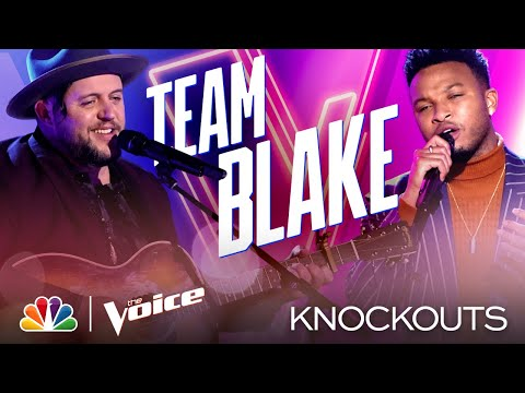 Jus Jon and Jim Ranger Deliver Amazing and Very Different Performances - The Voice Knockouts 2020