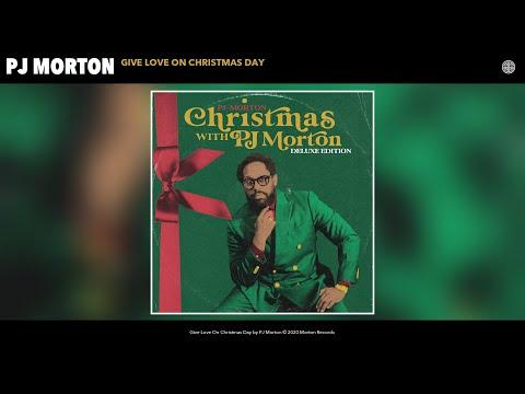 PJ Morton - Give Love On Christmas Day (Audio)