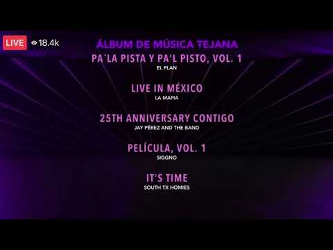 Latin Grammy presentacion