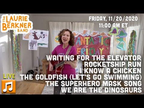 LIVE Berkner Break | Fri., Nov 20 | W Are The Dinosaurs, Waiting For The Elevator, The Goldfish