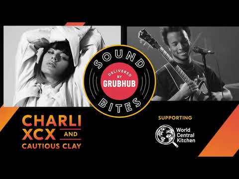 Grubhub Soundbites with Charli XCX + Cautious Clay