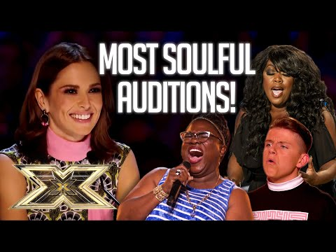 Top 5 MOST SOULFUL Auditions!   The X Factor UK