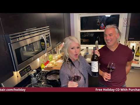 Join Us In Our Kitchen For A LIVE Cooking, Music and Wine Show!