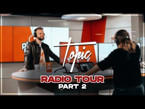 Radio Tour Vlog Part 2 | Topic