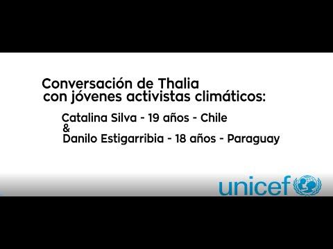 Día Mundial de los Niños 2020 - UNICEF - Conversación con dos jóvenes activistas climáticos