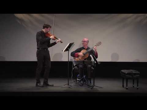 Sonatine for violin and guitar by Pierre Jalbert