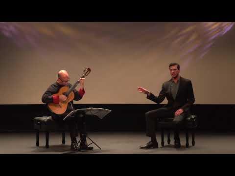 "Schubert ""Pause"", Michael Kelly, David Leisner, live"