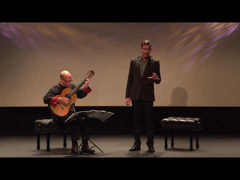 "Schubert ""Der Jäger"", Michael Kelly, David Leisner, live"