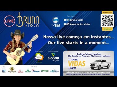 Live Bruna Viola - Associação Vidas