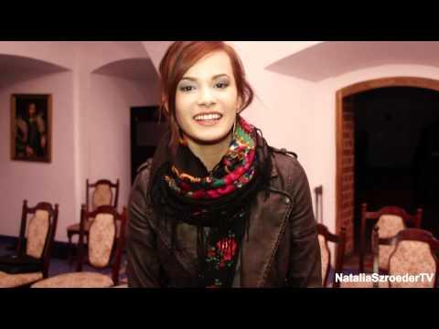 Natalia Szroeder - mile zaskoczona Waszą aktywnością